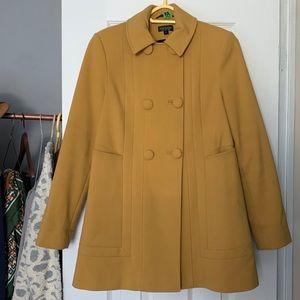 Topshop A-line Pea Coat - 4
